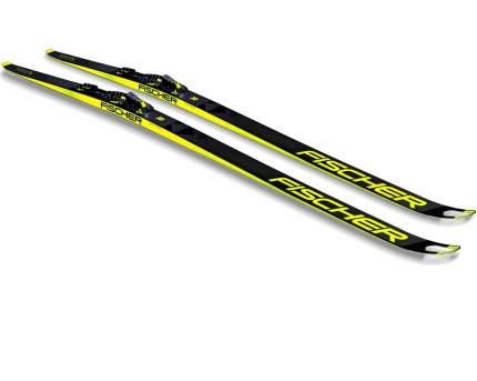 Беговые лыжи Fischer Speedmax 3D Skate Cold Stiff IFP 2021, black/yellow, 186 см