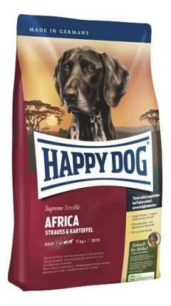 Сухой корм для собак Happy Dog Supreme Sensible Africa, страус, картофель, 12,5кг