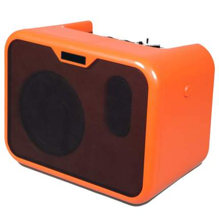 "Гитарный усилитель The String ""Комби"", МА-10А, цвет оранжевый, 24х15х17 см"