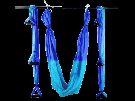 Гамак для йоги: С.YJ-KMA (Сине-голубой - С+Г)