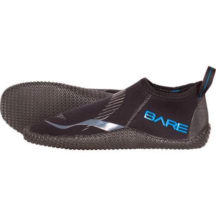 Гидроботинки Bare Feet 3 mm, черные/синие, XL