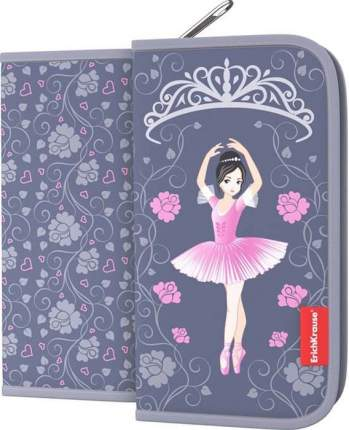 Пенал-книжка ErichKrause 110x205x25мм Ballet без наполнения