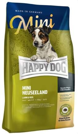Сухой корм для собак Happy Dog Supreme Mini Neuseeland, для мелких пород, ягненок, рис,8кг