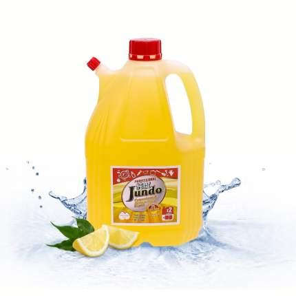 Концентрированный ЭКО гель для посуды и детских принадлежностей Jundo Juicy Lemon,4 л