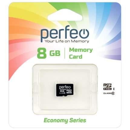 Карта памяти Perfeo microSD 8GB High-Capacity (Class 10) без адаптера economy series