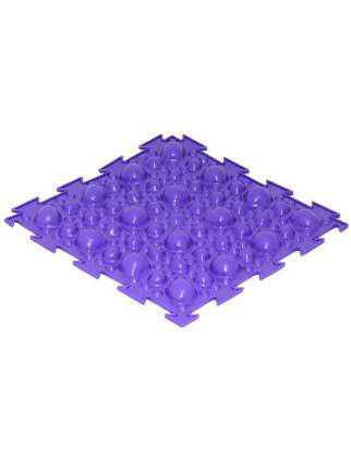 Массажный коврик Ортодон Камни мягкие, фиолетовый