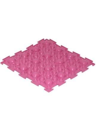 Массажный коврик Ортодон Камни мягкие, розовый