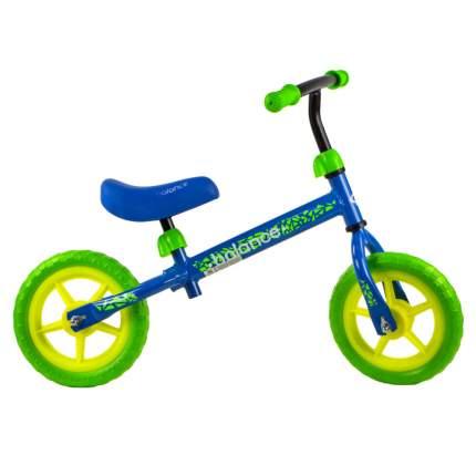 Беговел N.Ergo, колеса 10, цвет: синий, зеленый