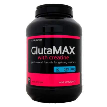 Гейнер XXI Power GlutaMAX + Creatine, 4000 г, wild strawberry