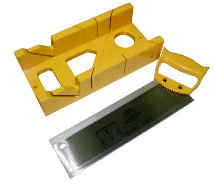 Стусло пластиковое с ножовкой Skrab 20807