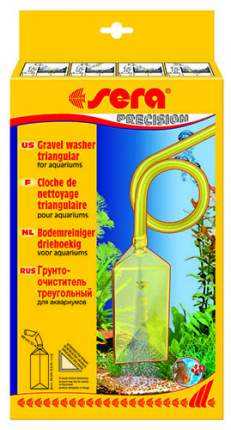 Грунтоочиститель sera Грунтоочиститель GRAVEL WASHER 8565, 14 см желтый