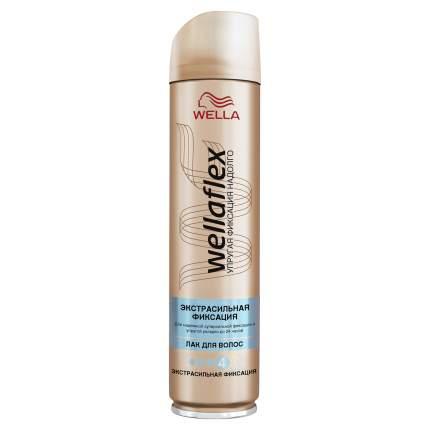 """Лак для волос Wellaflex """"Экстрасильная фиксация"""" 250 мл"""