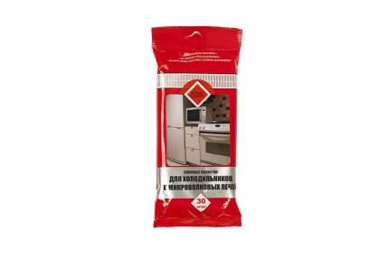 Салфетки для холодильника и микроволновой печи HomeQueen влажные 30шт/уп