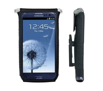 "TOPEAK SMARTPHONE DRYBAG 5"", BLACK Чехол водонепроницаемый для смартфона с креплением"