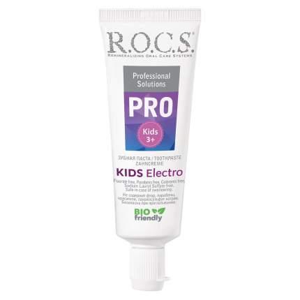 Зубная паста R.O.C.S. Kids Pro для детей Electro, 45 г