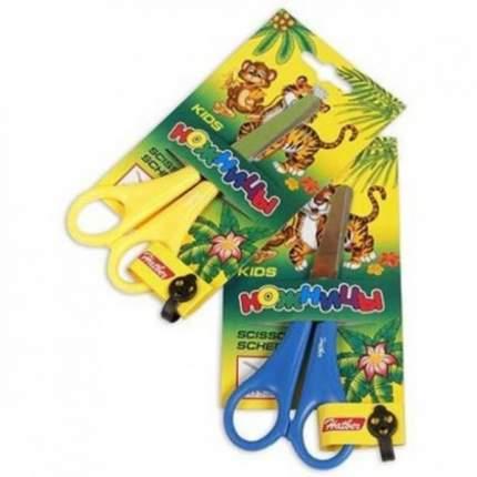Ножницы детские Джунгли. Hatber. 13.5 см