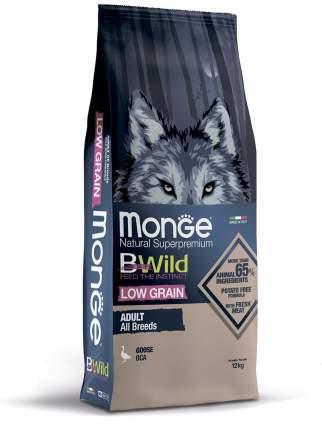 Сухой корм для собак Monge ,Dog BWild Low Grain низкозерновой из мяса гуся, 12кг