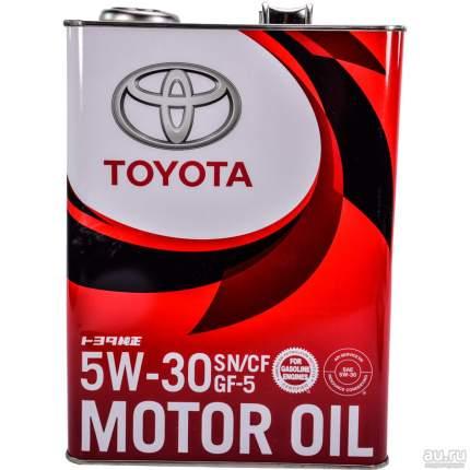 Моторное масло Toyota GF-5 SN 5W-30 4л