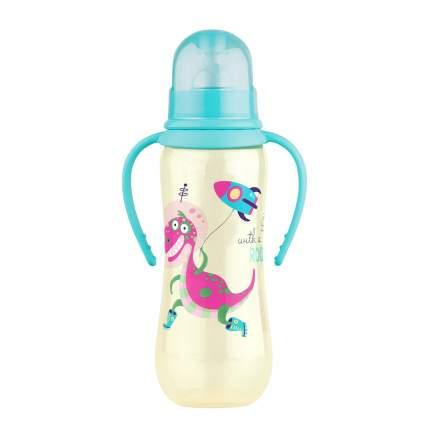Бутылочка для кормления Lubby с силиконовой соской 250 мл