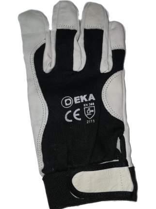 Перчатки монтажные усиленные черные разм. 10 EKA 83200110