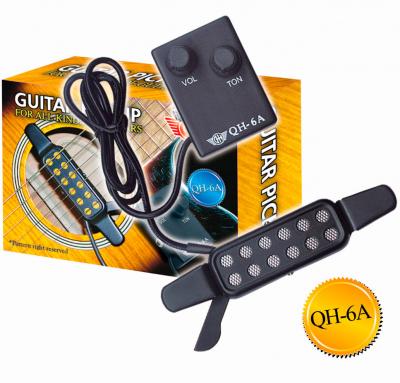 Звукосниматель (пьезодатчик) Gh Qh-6a для всех типов гитар