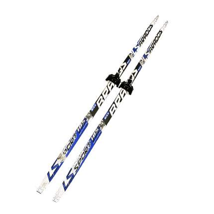 Лыжный комплект (лыжи + крепления) 75 мм 180 СТЕП, Brados LS Sport 3D black/blue