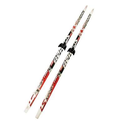 Лыжный комплект (лыжи + крепления) 75 мм 175 СТЕП, Brados LS Sport red