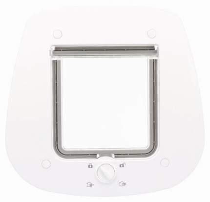 """Дверца для кошки Trixie """"4-Way"""", для стеклянных дверей, 27x26 см,  белый"""
