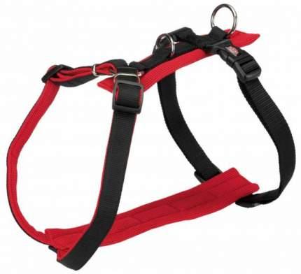 Шлейка для собак TRIXIE Comfort Soft, M, S, нейлон, пластик, красный,  42–60 см/20 мм