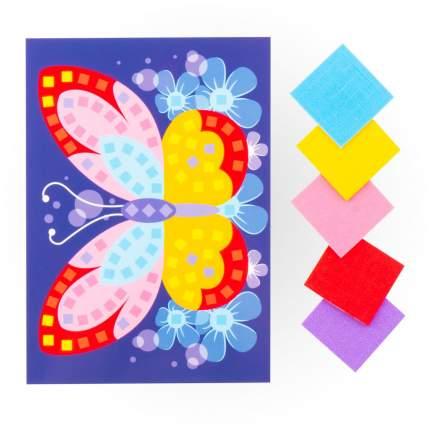 Аппликация Lori из мягкого пластика Яркая бабочка