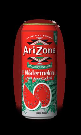 Напиток Arizona Watermelon 0,34л Упаковка 30 шт