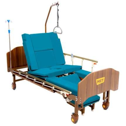 Кровать функциональная медицинская с электроприводом с механическим туалетом MET EMET