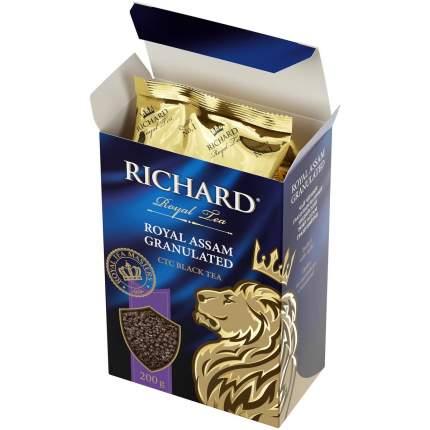 Чай Richard Royal Assam Granulated черный ганулированный 200 г