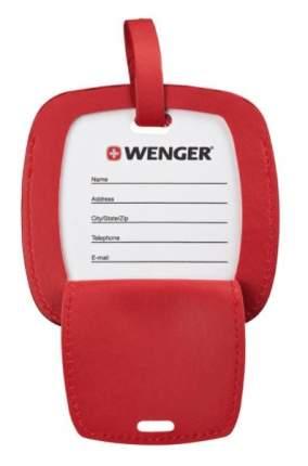 Бирка для путешествий Wenger полиуретан красный