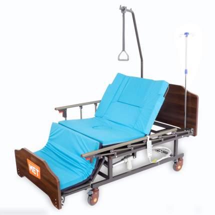 Медицинская кровать с USB для лежачих с электро-туалетом и электро-переворотом MET REVEL