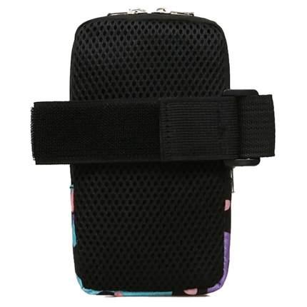 Чехол для телефона на руку с камуфляжным принтом, черно-серая