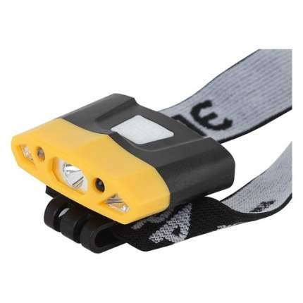 Налобный фонарь ЭРА GA-804, желтый  / черный,  4Вт [б0036605]