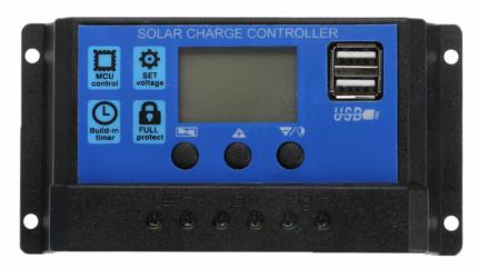Автоматический контроллер заряда солнечной батареи Cewaal, 40А