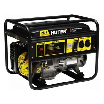 Бензиновый генератор HUTER DY6.5A, 220 [64/1/57]