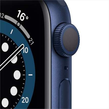 Смарт-часы Apple Watch Series 6 40mm Blue with Deep Navy Sport Band (MG143RU/A)
