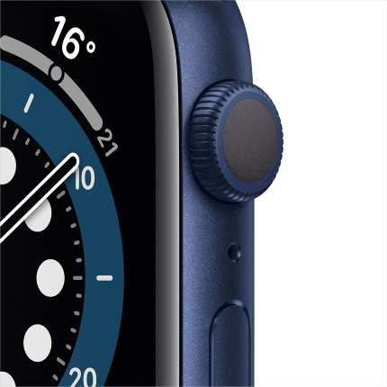 Смарт-часы Apple Watch Series 6 44mm Blue with Deep Navy Sport Band (M00J3RU/A)