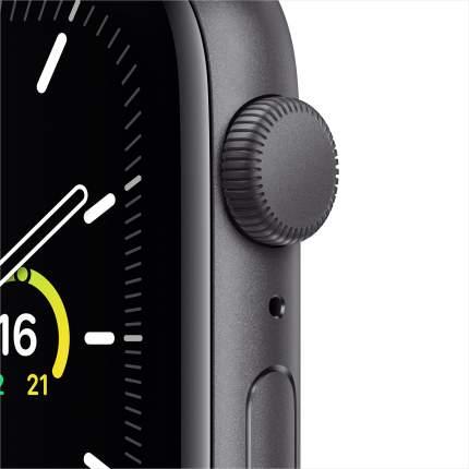 Смарт-часы Apple Watch SE 44mm Space Grey with Black Sport Band (MYDT2RU/A)