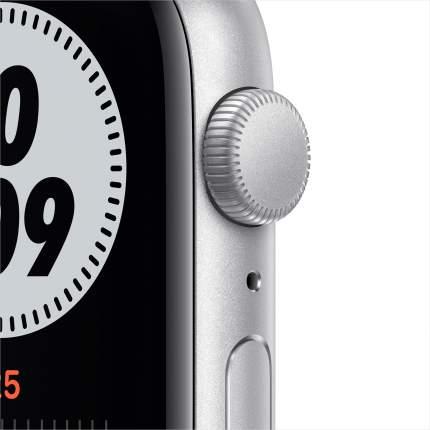 Смарт-часы Apple Watch Nike SE 44mm Silver, Pure Plat/Black Nike Sport Band (MYYH2RU/A)