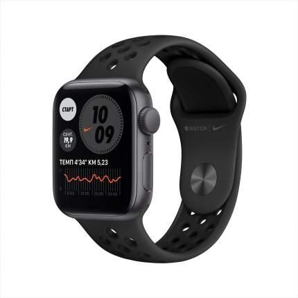 Смарт-часы Apple Watch Nike SE 40mm Space Grey, Anthr/Black Nike Sport Band (MYYF2RU/A)