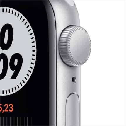 Смарт-часы Apple Watch Nike SE 40mm Silver, Pure Platin/Black Nike Sport Band (MYYD2RU/A)