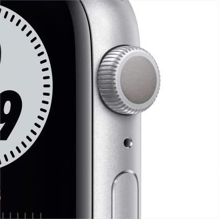 Смарт-часы Apple Watch Nike Series 6 44mm Silver, Platin/Black Nike Sport Band (MG293RU/A)