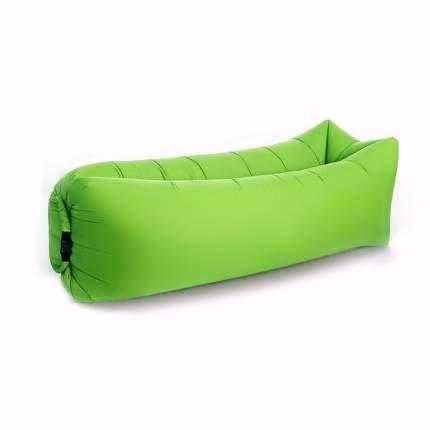 Надувной диван лежак 240см*70см (матрас-гамак) зеленый