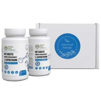 Набор Metabiotic с L-карнитином 2 шт. Green Leaf Formula Метабиотик капсулы 120 шт.