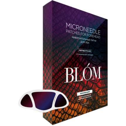 Маска для лица Blom от мимических морщин 4 шт