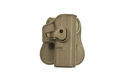 Кобура WoSporT пластиковая IMI для Glock TAN (GB-42-R-T)